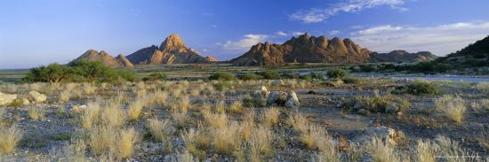 Panoramic View, Spitzkoppe, Namibia, Africa-Lee Frost-Photographic Print