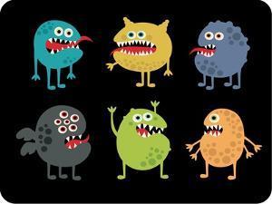 Cute Monsters Set. by panova