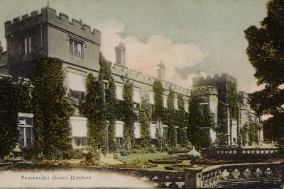Panshanger House, Hertford--Photographic Print