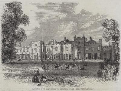 Panshanger House, Hertfordshire, the Seat of Earl Cowper--Giclee Print