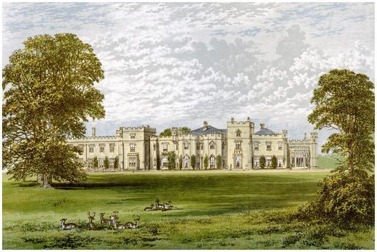 Panshanger Park, Hertfordshire, Home of Earl Cowper, C1880-AF Lydon-Giclee Print
