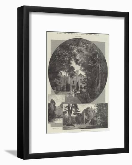 Panshanger-Charles Auguste Loye-Framed Giclee Print