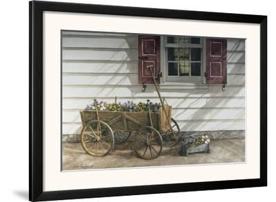 Pansies for Sale-Dan Campanelli-Framed Art Print