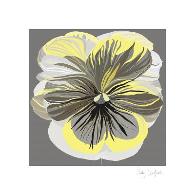 Pansies II-Sally Scaffardi-Art Print