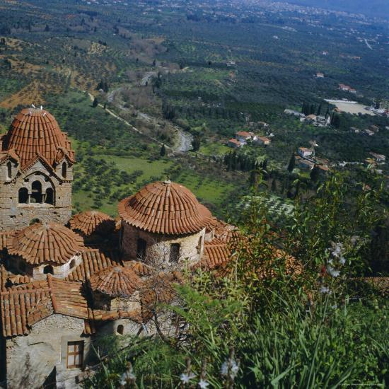 Pantanassa Monastery, Mistras, Greece, Europe-Tony Gervis-Premium Photographic Print
