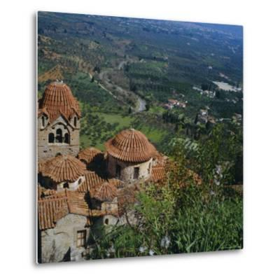 Pantanassa Monastery, Mistras, Greece, Europe-Tony Gervis-Metal Print