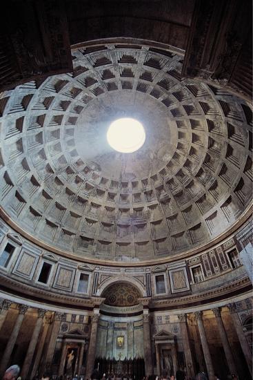 Pantheon, 118-125, Rome, Italy--Art Print