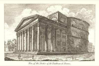 Pantheon Portico, Rome--Art Print