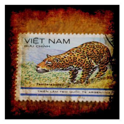Panthera Stamp-Jean-Fran?ois Dupuis-Art Print