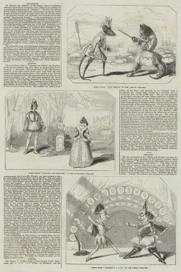 Pantomimes and Christmas Pieces--Giclee Print
