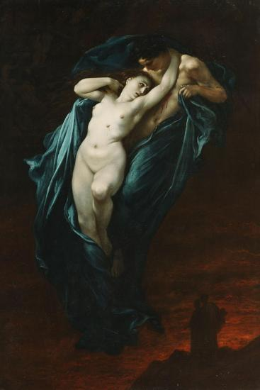 Paolo and Francesca Da Rimini, 1863-Gustave Dor?-Giclee Print