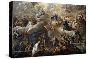Triumph of the Immaculate, 1710-1715 by Paolo Di Matteis