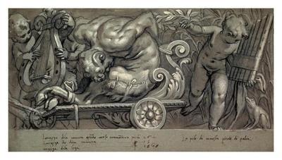 Dionysus and Putti