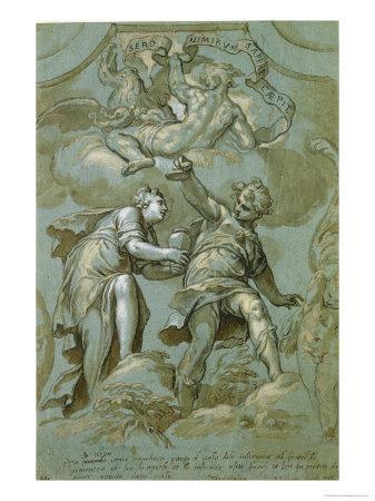Pandora Offers the Box to Epimetheus