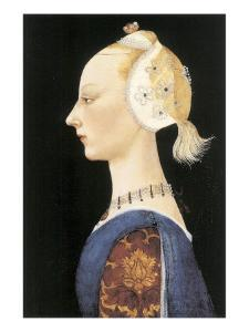 A Young Lady of Fashion by Paolo Uccello