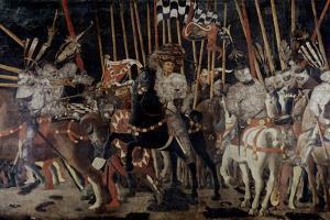 Battle of San Romano: the Counter Attack of Michelotto Da Contignola by Paolo Uccello