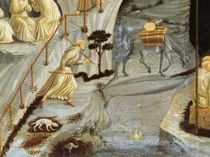 Figures of Monks, Detail from Thebes by Paolo Uccello
