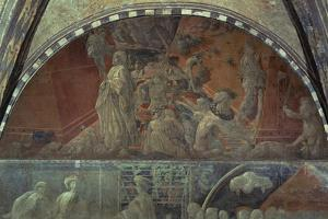 Flood Waters and Receding Water by Paolo Uccello