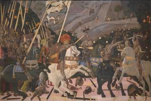 Niccolò Mauruzi Da Tolentino at the Battle of San Romano, C. 1440 by Paolo Uccello
