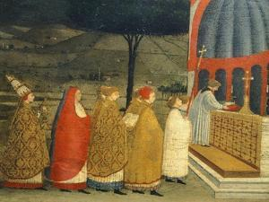 Predella of Miracle of Profaned Host by Paolo Uccello