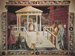 Presentation of Mary at Temple by Paolo Uccello