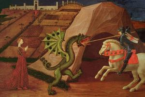 St. George and the Dragon, circa 1439-40 by Paolo Uccello