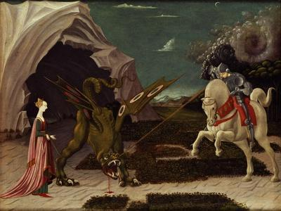 St. George and the Dragon, circa 1470