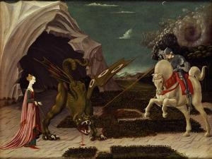 St. George and the Dragon, circa 1470 by Paolo Uccello