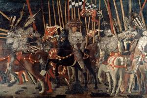 The Battle of San Romano, 1432 (C1435-144) by Paolo Uccello