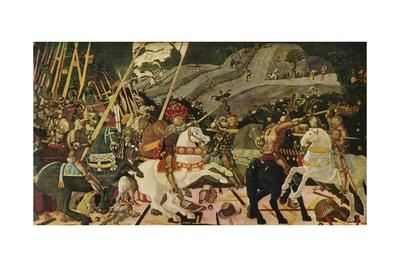 'The Battle of San Romano', c1438, (1909)