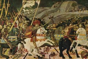 'The Battle of San Romano', c1438, (1909) by Paolo Uccello