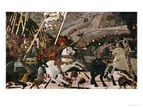 The Rout of San Romano, circa 1438-40 (Tempera on Poplar)-Paolo Uccello-Giclee Print