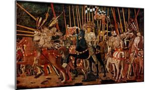 The Battle of San Romano, Right Panel, c.1454-57 by Paolo Uccello