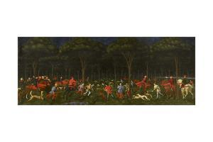 The Hunt in the Forest, C.1465-70 by Paolo Uccello