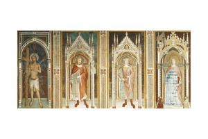 Theory of Saints, Fresco by Paolo Uccello