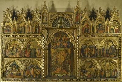 Polyptych of the Coronation of the Virgin Mary, Stories of Jesus and Stories of St Francis