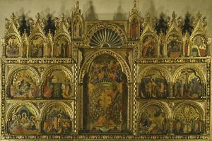 Polyptych of the Coronation of the Virgin Mary, Stories of Jesus and Stories of St Francis by Paolo Veneziano