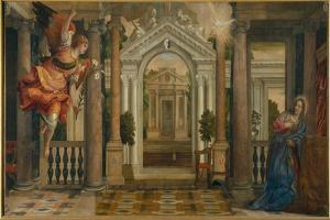 Annunciation by Paolo Veronese