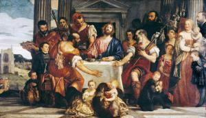 Cena in Emmaus by Paolo Veronese