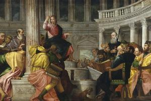 Christ Among the Doctors by Paolo Veronese