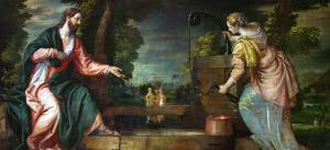 Christ and the Samaritan Woman at the Well, circa 1580 by Paolo Veronese