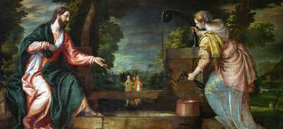 Christ and the Samaritan Woman at the Well, circa 1580