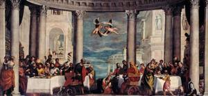 Feast in the House of Simon the Pharisee, 1570 by Paolo Veronese