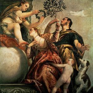 Four Allegories of Love: Happy Union, Ca. 1570 by Paolo Veronese