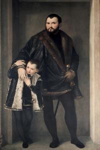 Giuseppe Da Porto and His Son, 16th Century by Paolo Veronese