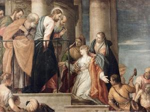 Healing the Woman with the Issue of Blood by Paolo Veronese