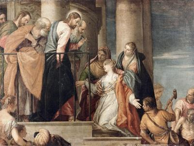 Healing the Woman with the Issue of Blood