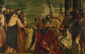 Jesus and the Centurion, about 1571 by Paolo Veronese