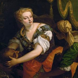 Judith with the Head of Holofernes, C. 1580 by Paolo Veronese