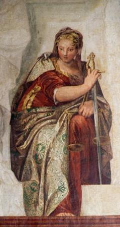 Justice, from the Walls of the Sacristy